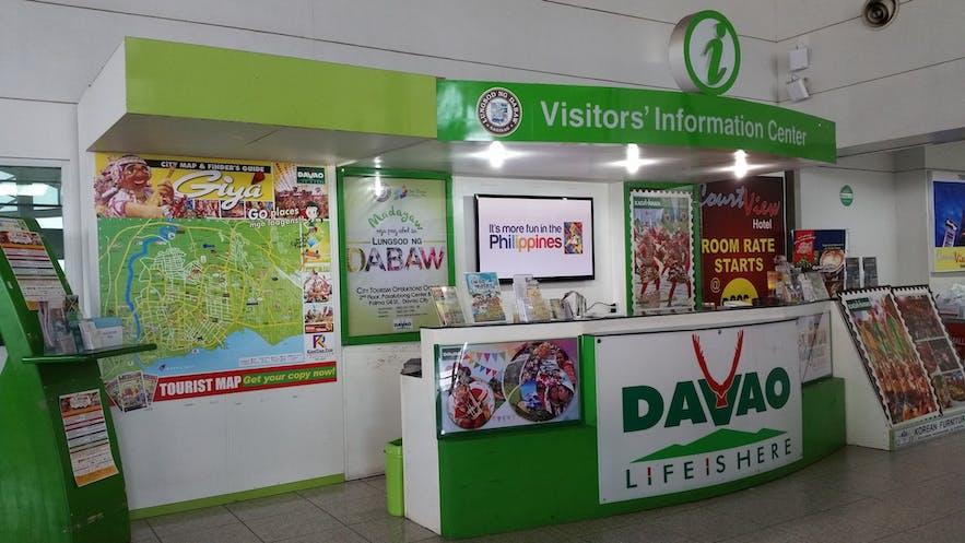 Davao International Airport's information center