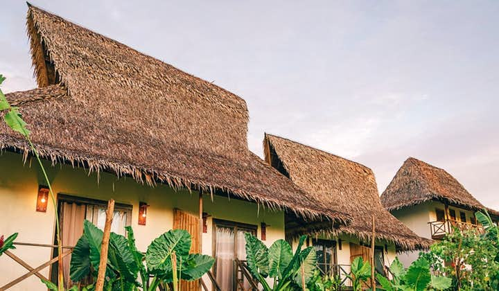 Exterior of the Deluxe Double Villa at Himaya Siargao