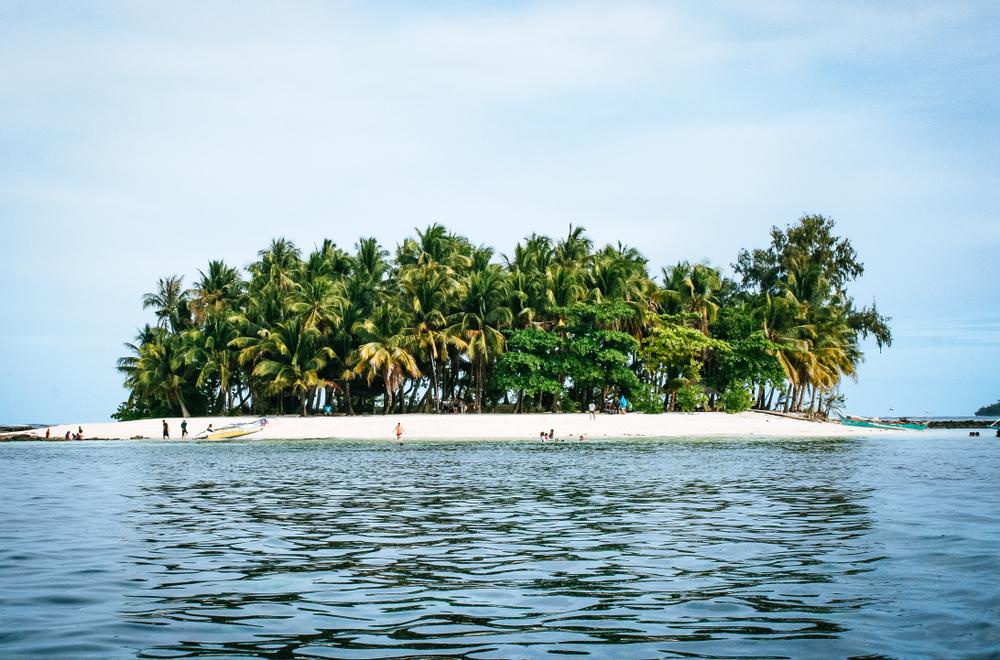 Guyam Island in Siargao Island