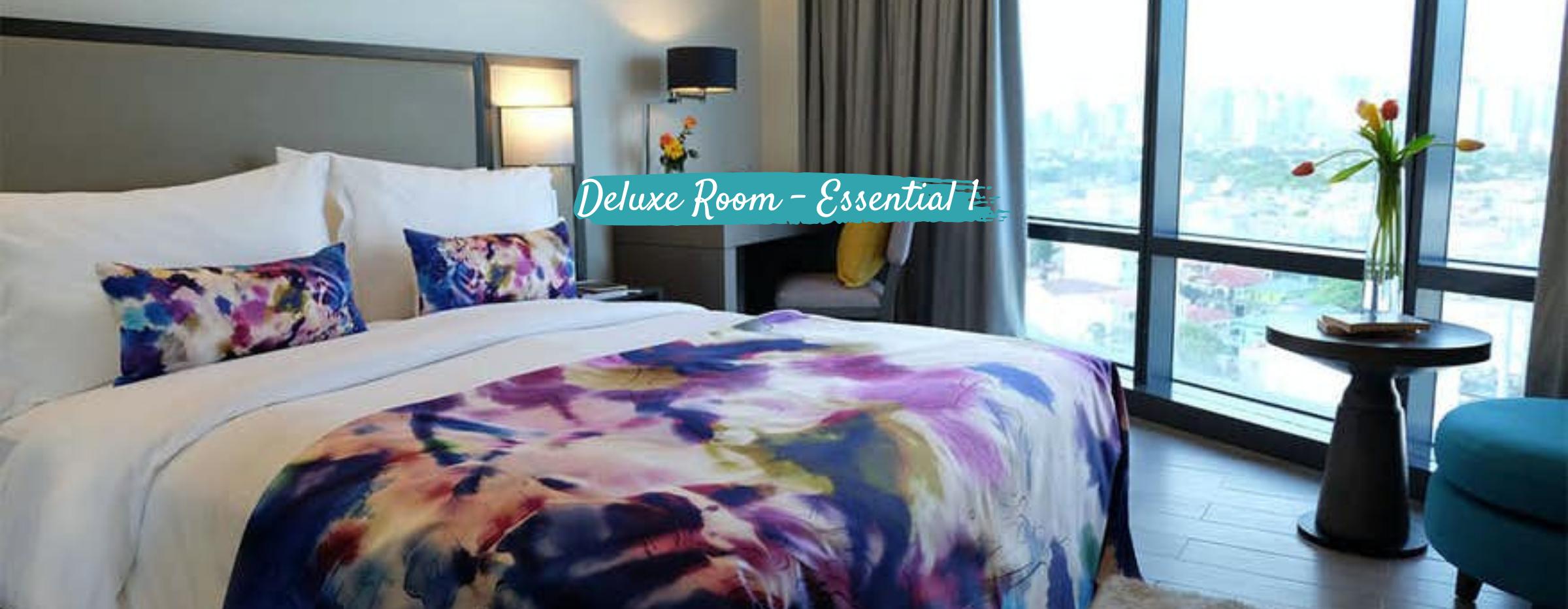 Deluxe Room Essential 1- Savoy Hotel Manila