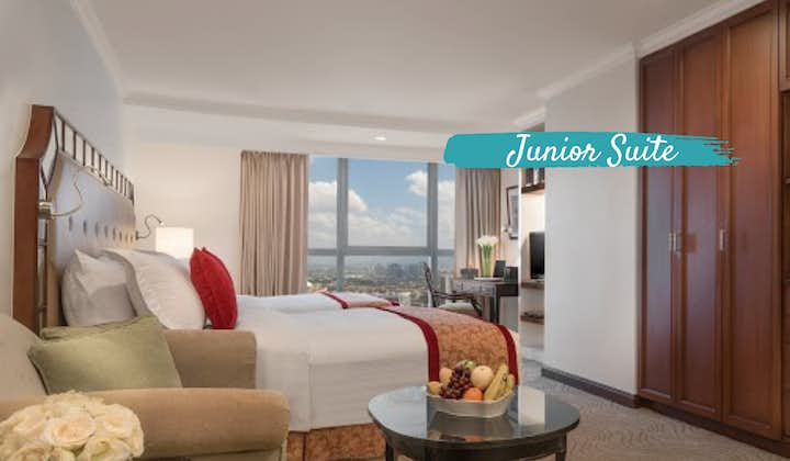 SFO to Discovery Suites MNL Quarantine with PAL   Junior Suite