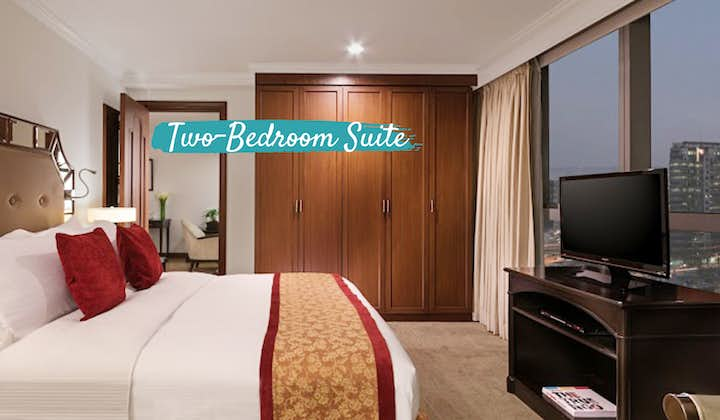 Discovery Suites 2-Bedroom Suite | Vancouver to MNL Package PAL
