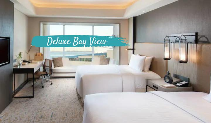 Conrad Hotel Deluxe Bay View   LAX to MNL Package Philippines Airline