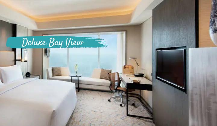 Conrad Hotel Deluxe Bay View | SFO-MNL Philippine Airline Flight +Hotel Quarantine