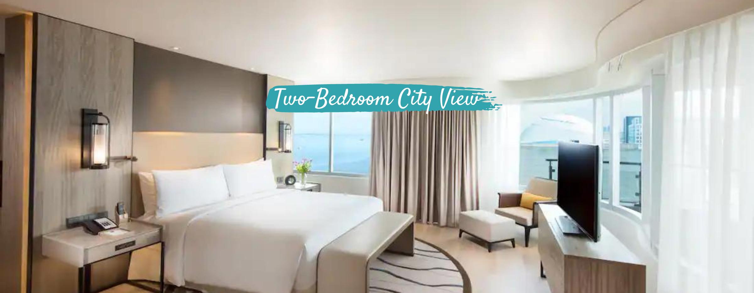 Conrad Hotel Two-Bedroom City View   SFO to MNL Philippine Airline Flight + Hotel Quarantine
