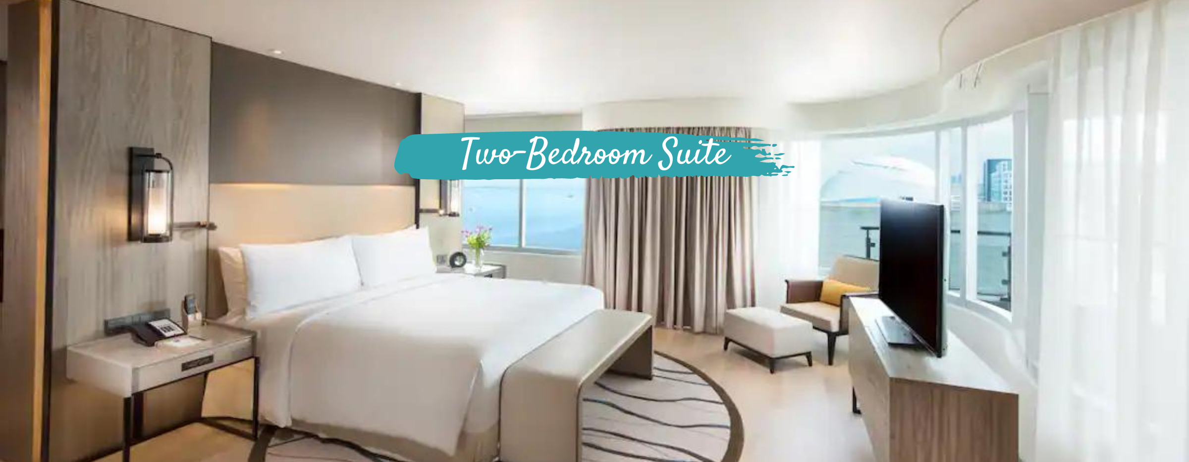 Conrad Hotel Two Bedroom Suite   Vancouver to MNL Philippine Airlines Quarantine Package
