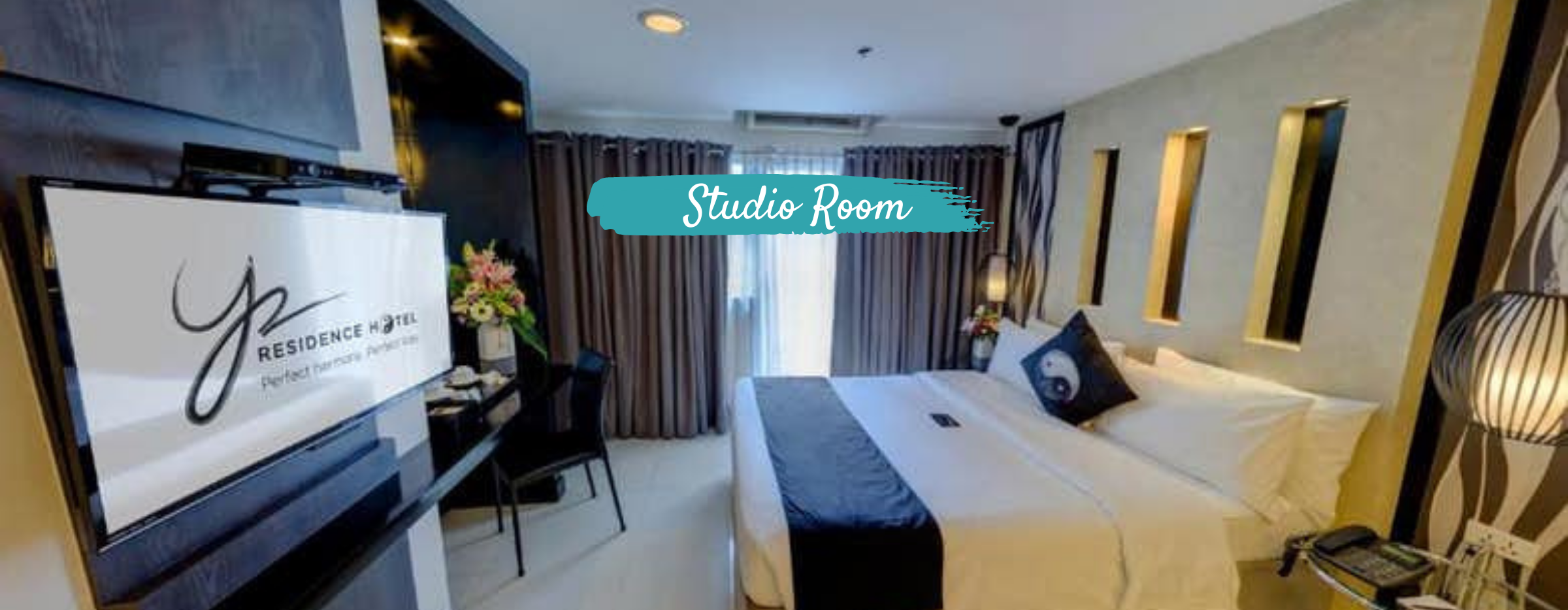 Y2 Residence - Studio Room   Vancouver to MNL Philippine Airlines + Hotel Quarantine