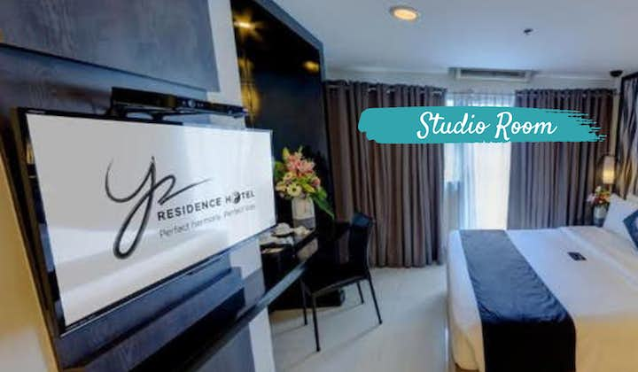 Y2 Residence - Studio Room | Vancouver to MNL Philippine Airlines + Hotel Quarantine