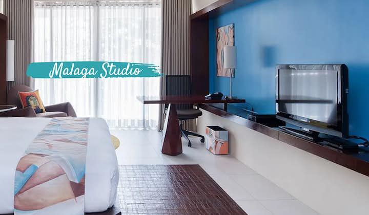 Inside the Malaga Studio in Picasso Hotel