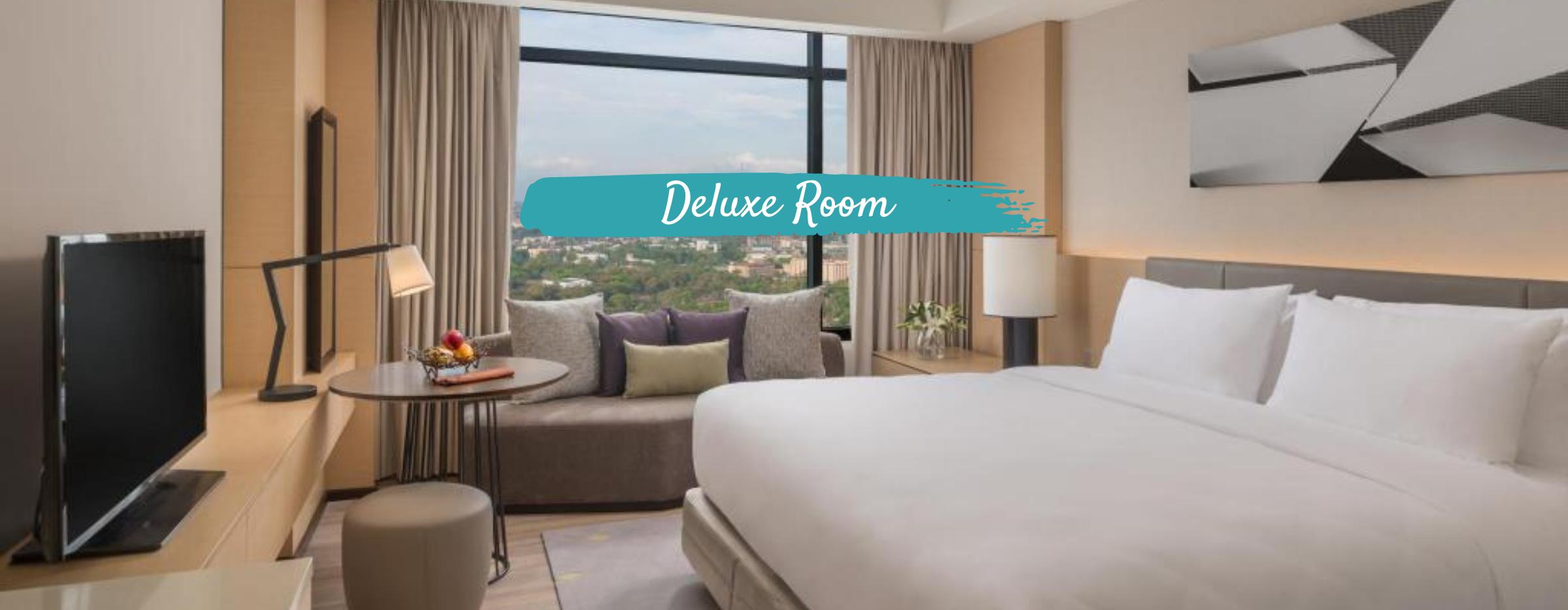 Seda Vertis North Hotel Deluxe Room   LAX to MNL Philippine Airlines + Manila Hotel Quarantine Package