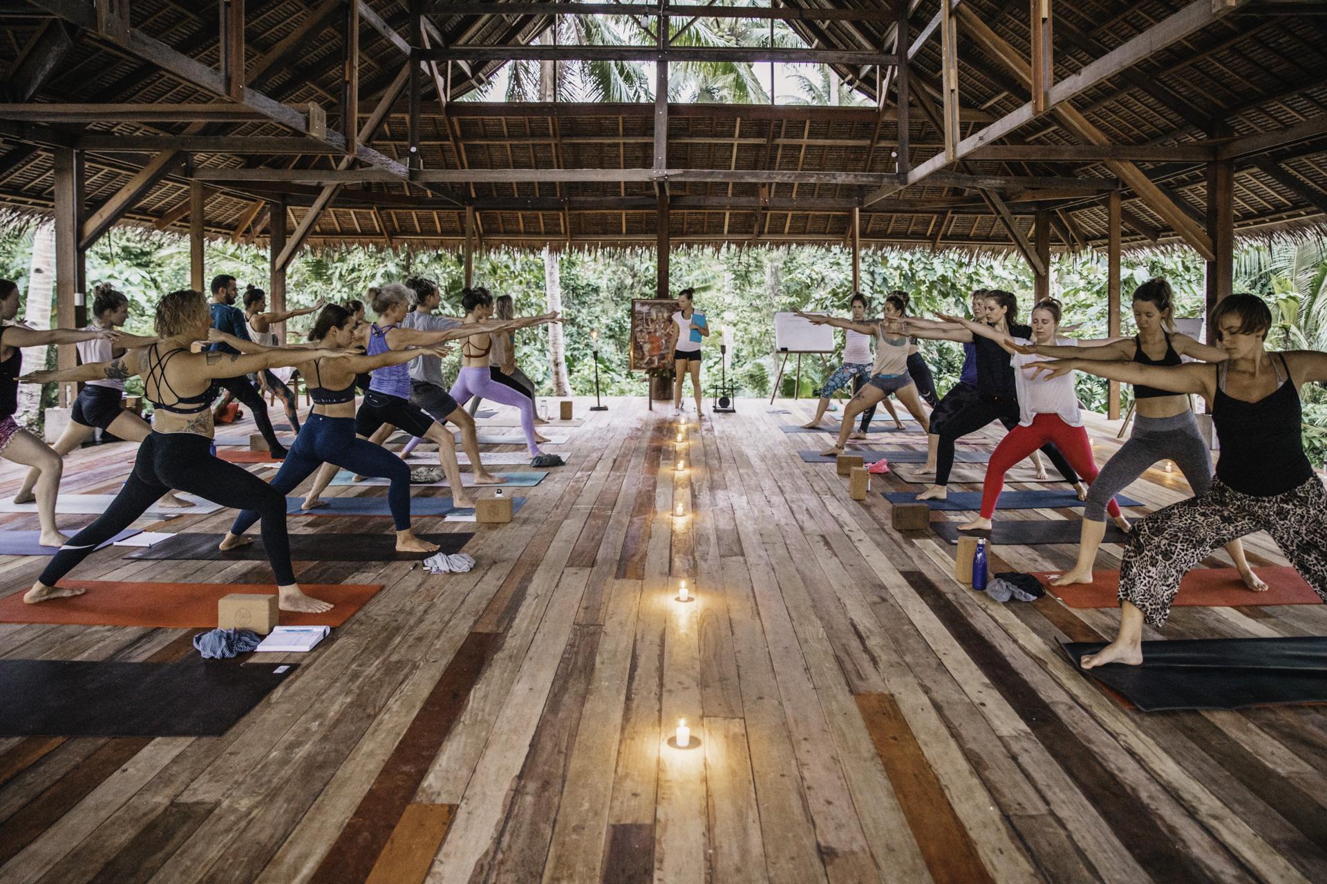 Community Yoga Class at Lotus Shores Siargao