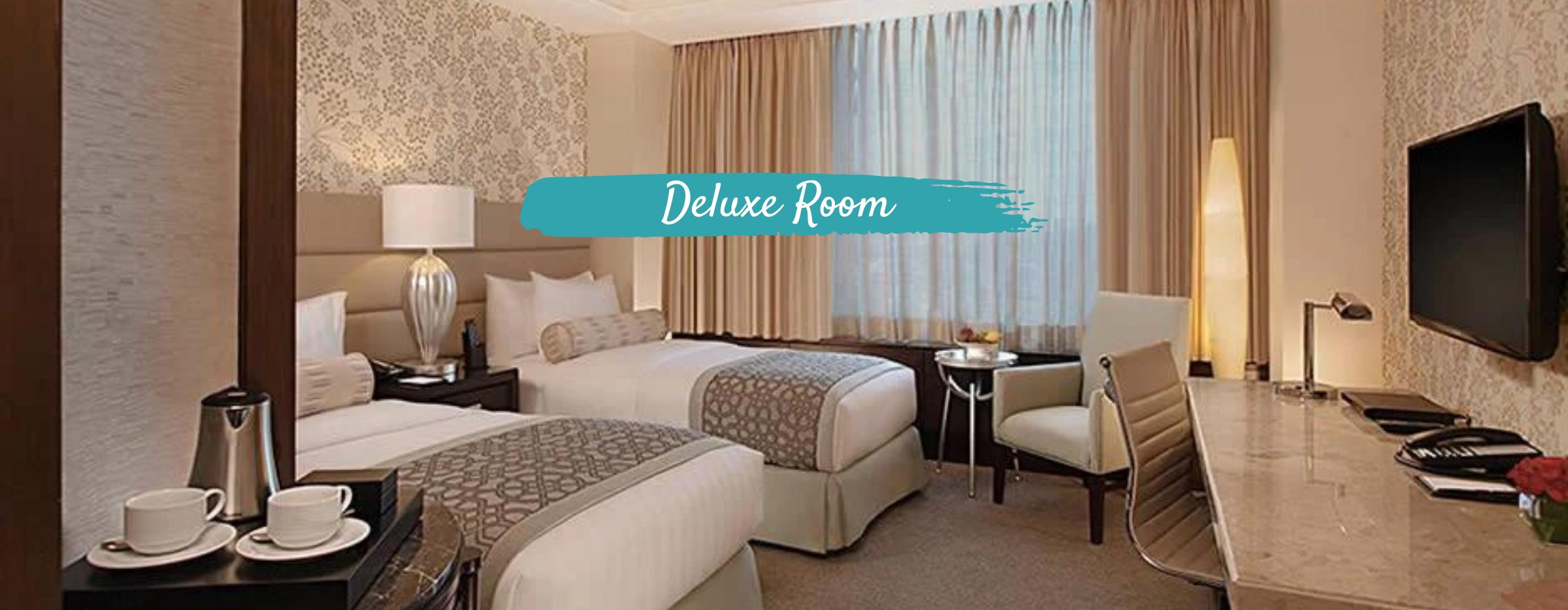 Crimson Alabang Deluxe Room   SFO to MNL Philippine Airlines Flight + Manila Hotel Quarantine Package