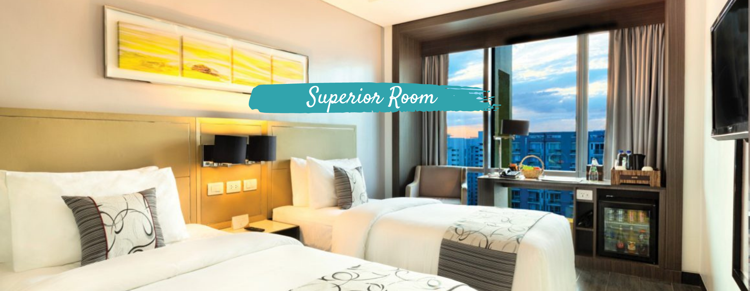 Belmont Hotel Superior Room    LAX to MNL Philippine Airlines + Hotel Quarantine Package