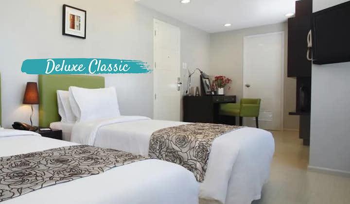 Deluxe Classic Room in The Exchange Regency Hotel