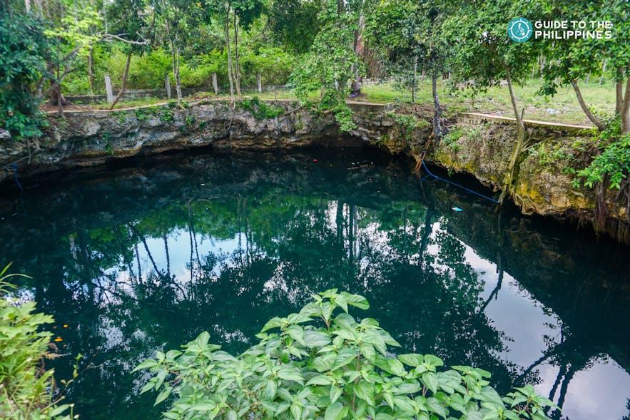 A sink hole in Simunul Island, Tawi-tawi