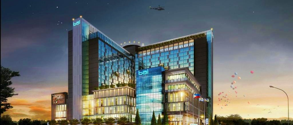 Facade of Bai Hotel Cebu