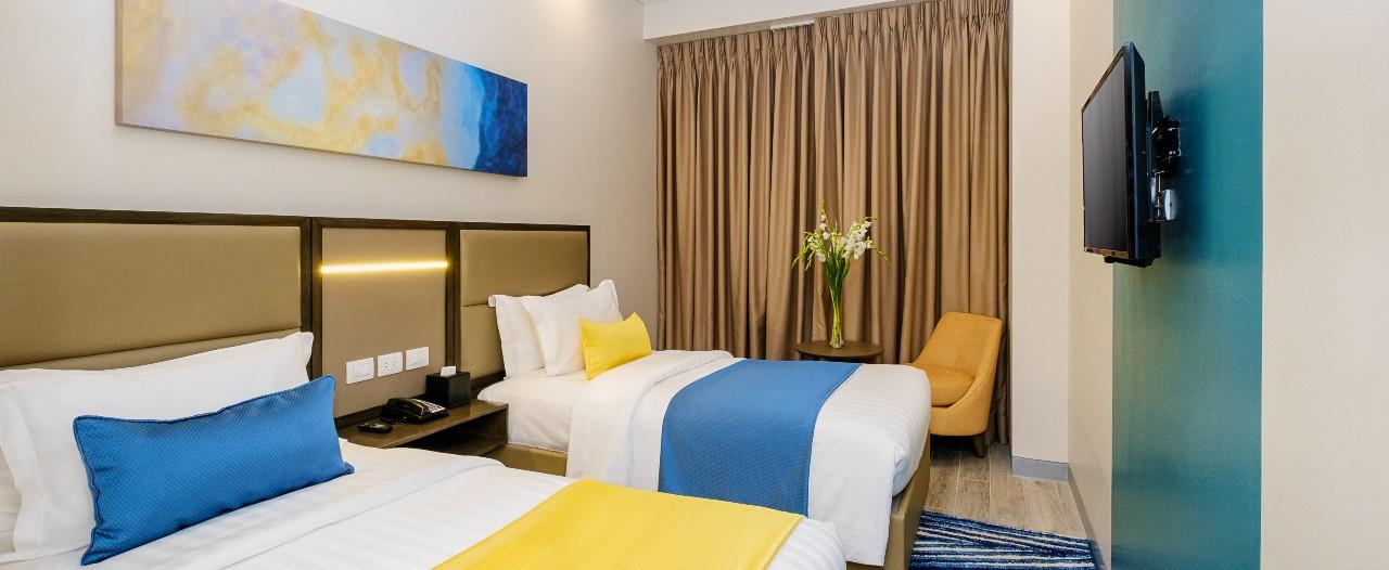 Superior Deluxe Room at Savoy Hotel Mactan Newtown Cebu