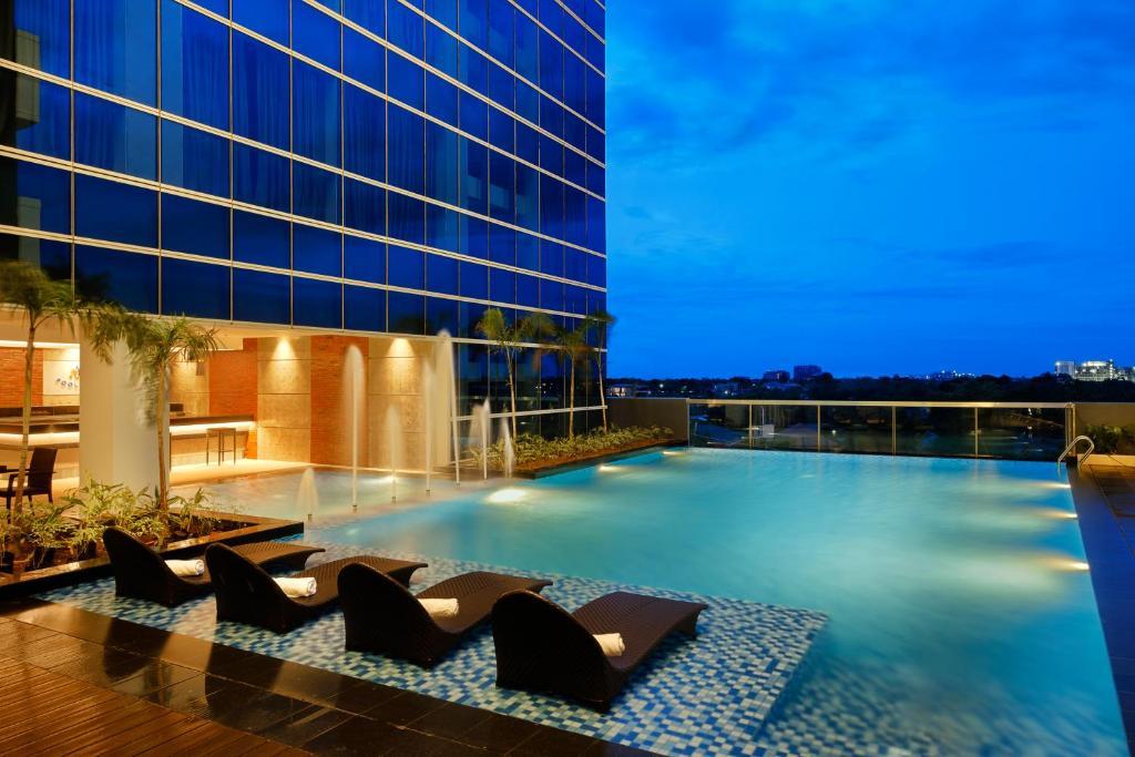 Outdoor Pool at Savoy Hotel Mactan Newtown Cebu