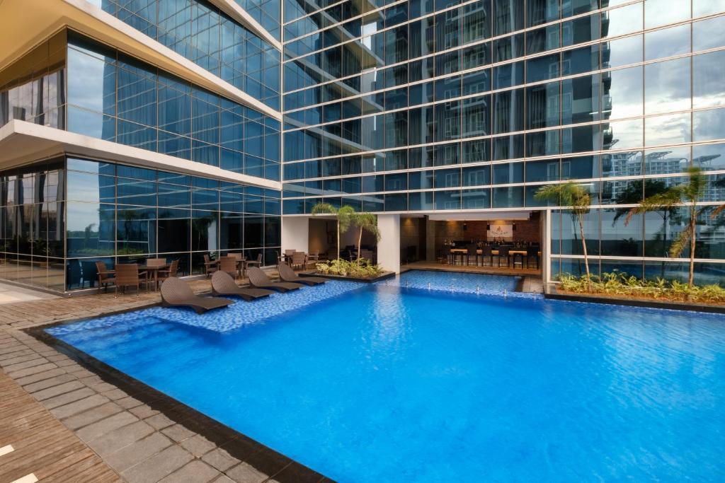 Pool View at Savoy Hotel Mactan Newtown Cebu