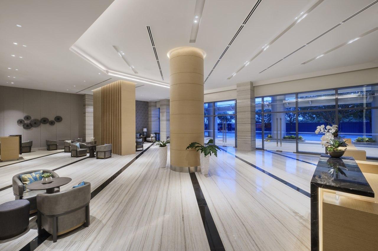 Lobby of Savoy Hotel Mactan Newtown