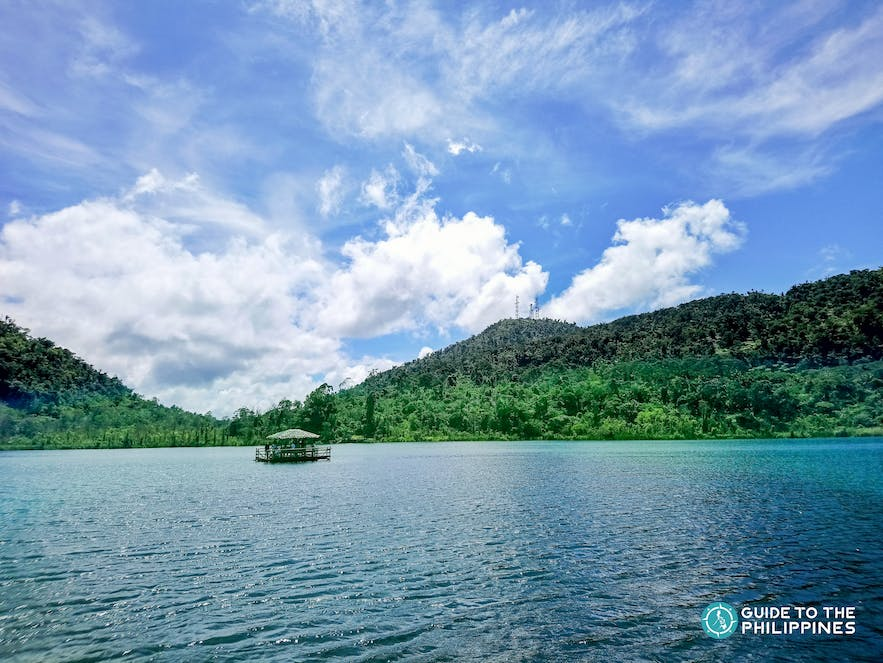 A floating cottage on Lake Danao