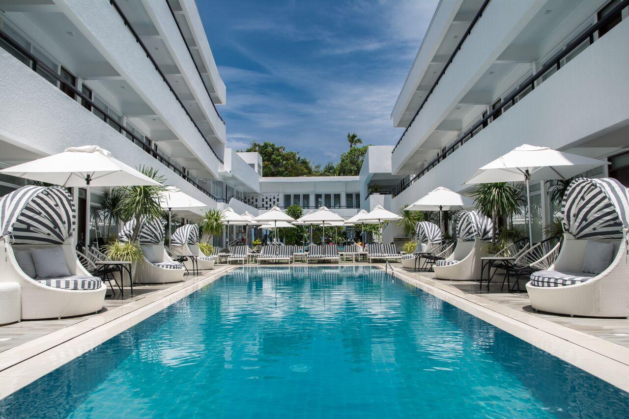 Pool view at Coast Boracay