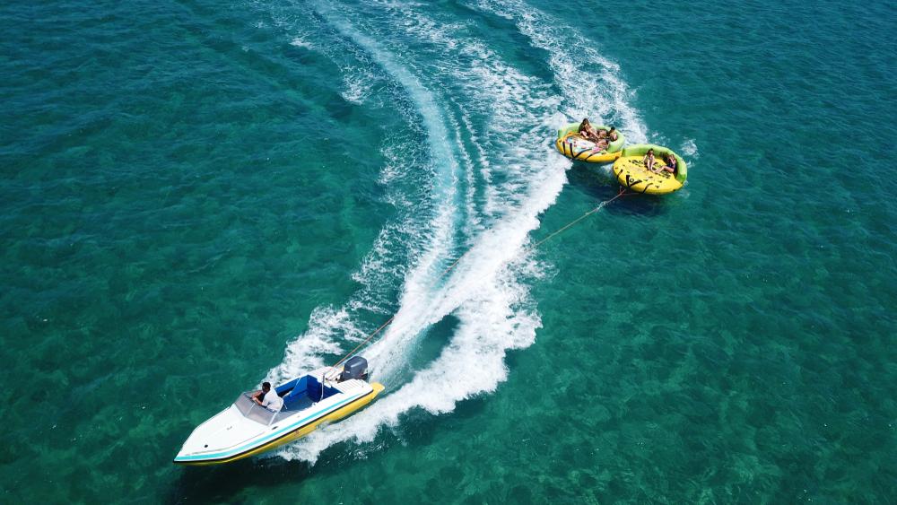 UFO water activity in Boracay Island