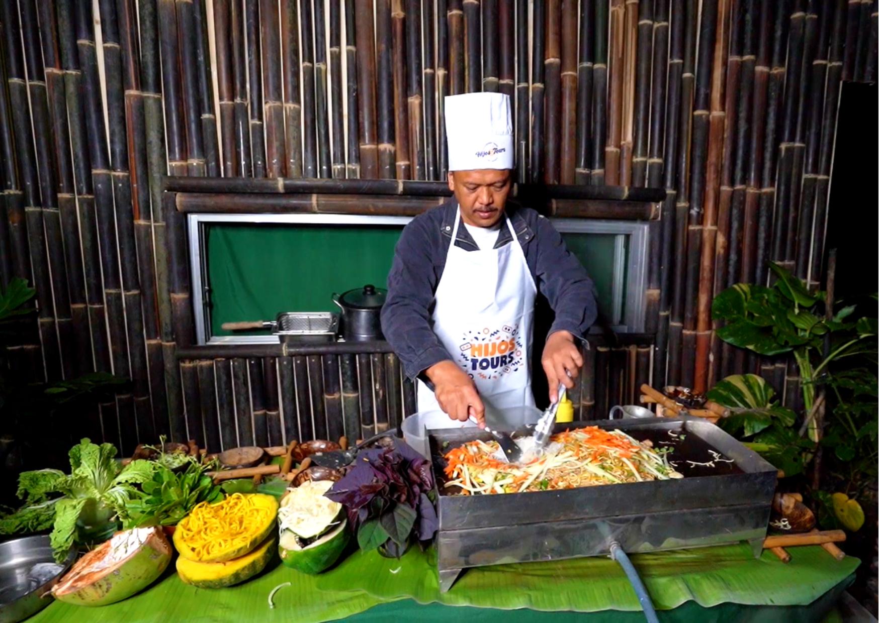 Cooking demo at Casa San Pablo
