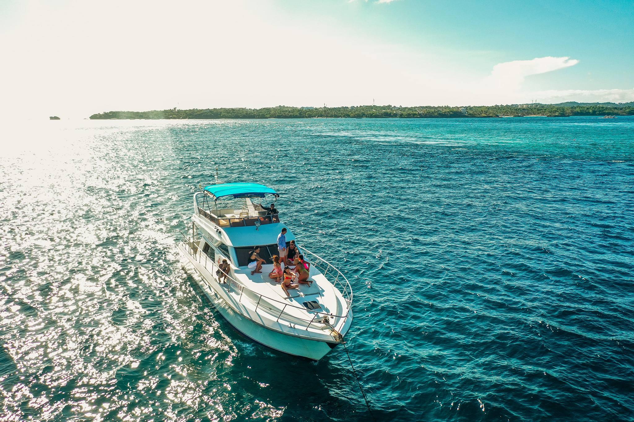 Yachting in Boracay Island