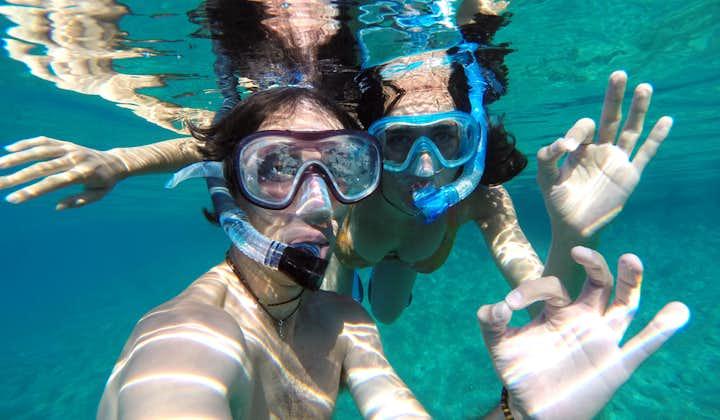 Snorkeling at Coral Garden, Boracay