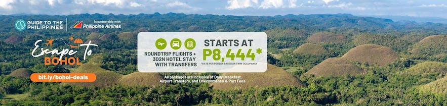 Bohol tour packages with airfare and hotel by Guide to the Philippines